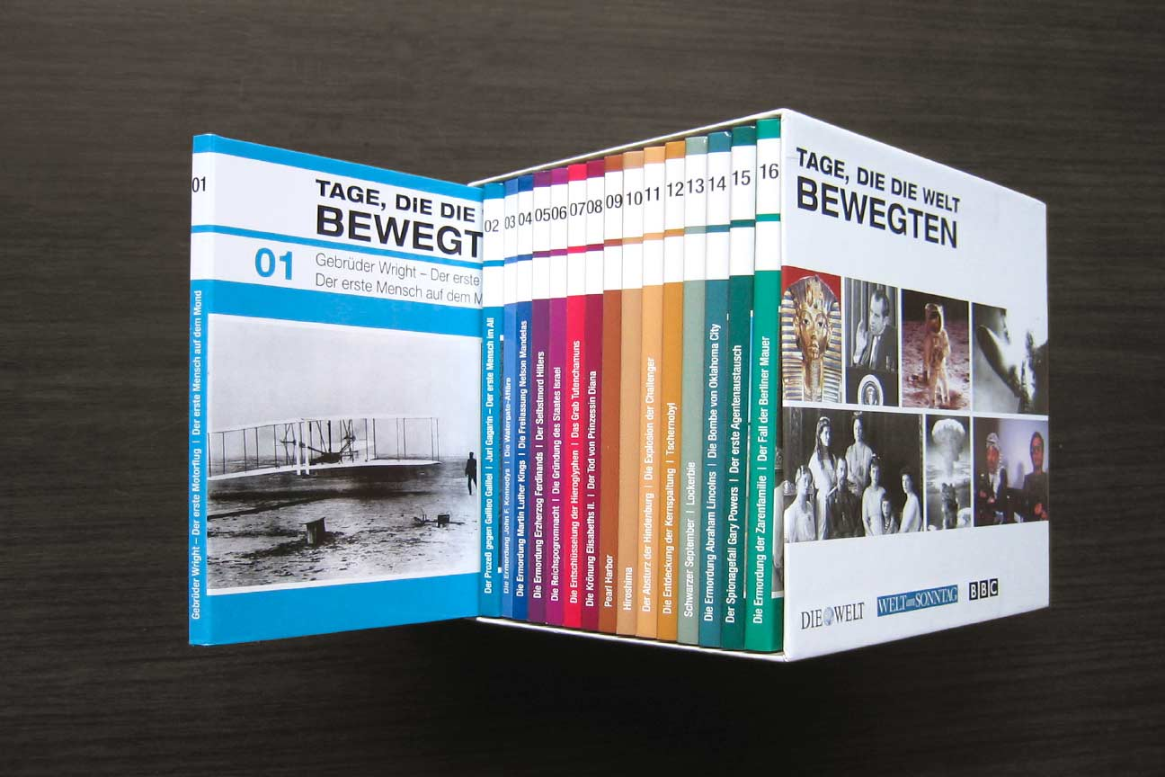 Sammel-Edition von DIE WELT und WELT am SONNTAG
