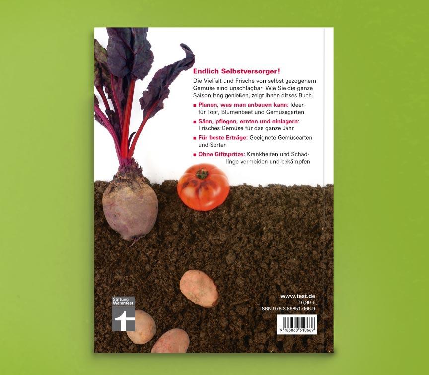 Cover von Gemüse anbauen Rückseite