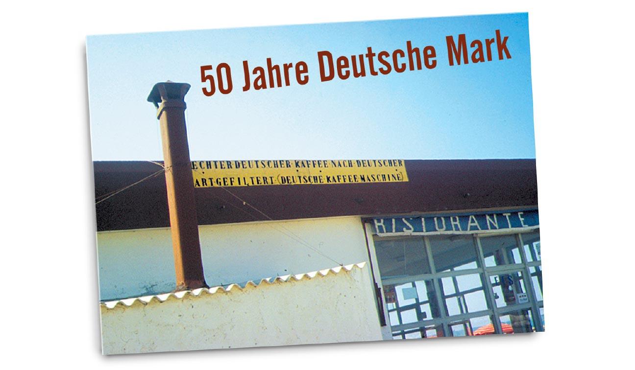 50 Jahre Deutsche Mark Plakatwettbewerb Deutscher Kaffee
