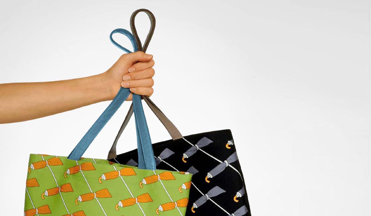 Illustration Textil Tasche für Tokio 1b